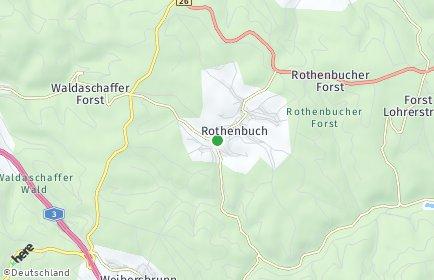 Stadtplan Rothenbuch