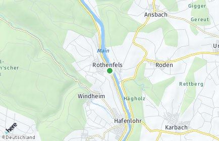 Stadtplan Rothenfels