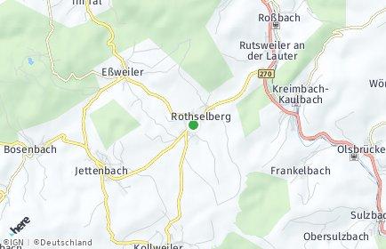 Stadtplan Rothselberg