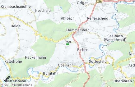 Stadtplan Rott (Westerwald)