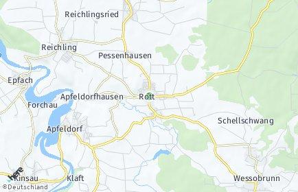 Stadtplan Rott (Kreis Landsberg)