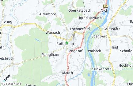 Stadtplan Rott am Inn