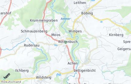 Stadtplan Rottenbuch