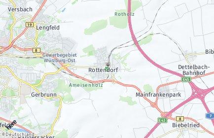 Stadtplan Rottendorf