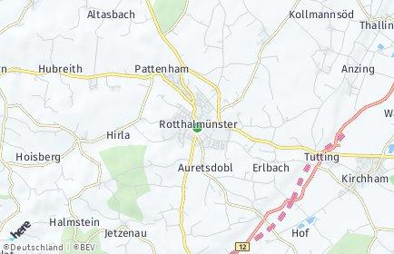 Stadtplan Rotthalmünster