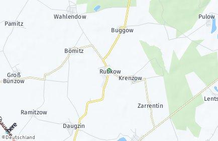 Stadtplan Rubkow