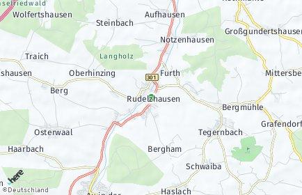 Stadtplan Rudelzhausen OT Enzelhausen
