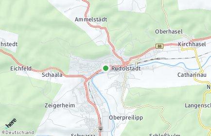 Stadtplan Rudolstadt
