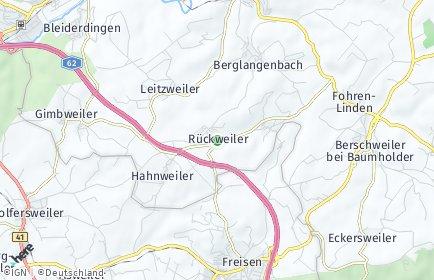 Stadtplan Rückweiler