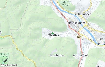 Stadtplan Rüdenau