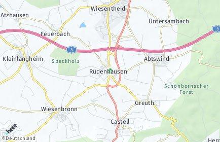 Stadtplan Rüdenhausen