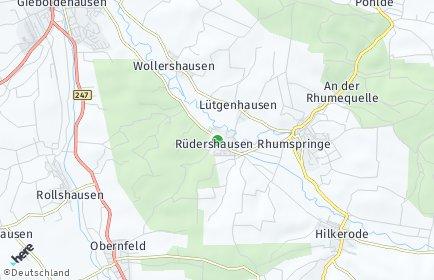 Stadtplan Rüdershausen