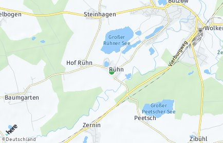 Stadtplan Rühn