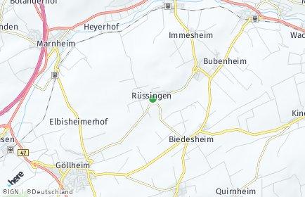 Stadtplan Rüssingen