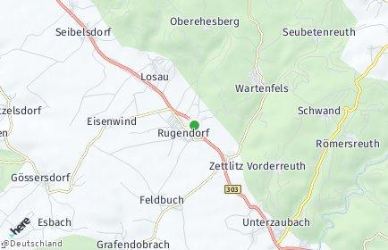 Stadtplan Rugendorf OT Rugendorf