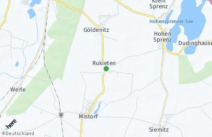 Stadtplan Rukieten