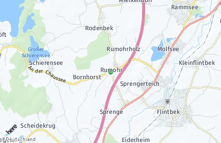 Stadtplan Rumohr