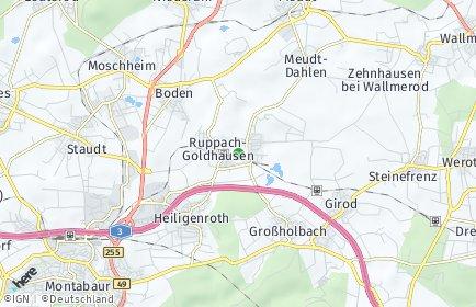 Stadtplan Ruppach-Goldhausen