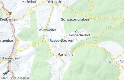 Stadtplan Ruppertsecken