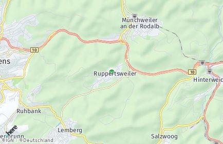 Stadtplan Ruppertsweiler