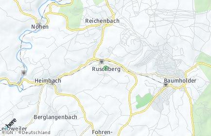 Stadtplan Ruschberg