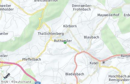 Stadtplan Ruthweiler