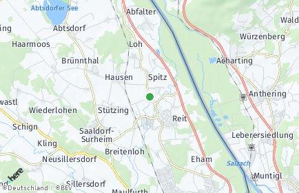 Stadtplan Saaldorf-Surheim