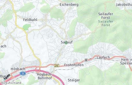 Stadtplan Sailauf