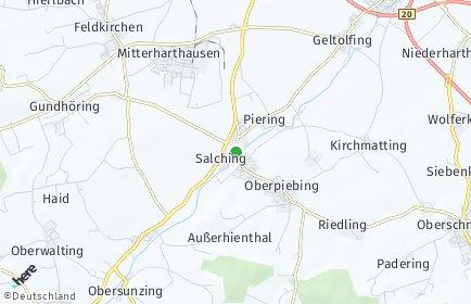 Stadtplan Salching