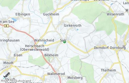 Stadtplan Salz (Westerwald)