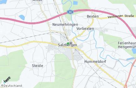 Stadtplan Salzbergen