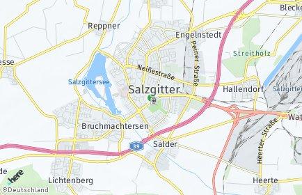 Stadtplan Salzgitter