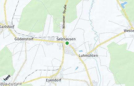 Stadtplan Salzhausen