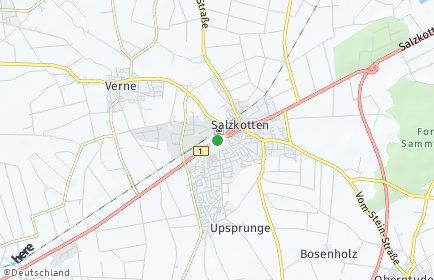 Stadtplan Salzkotten