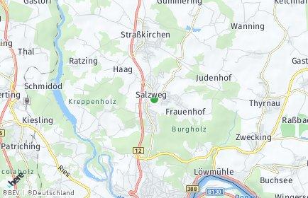 Stadtplan Salzweg
