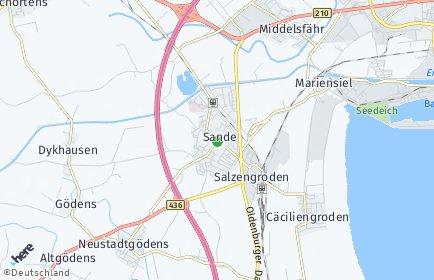 Plz Sande Friesland Niedersachsen Postleitzahlen 26452 Friesland