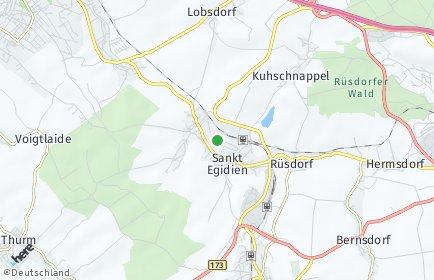 Stadtplan Sankt Egidien