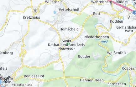 Stadtplan Sankt Katharinen (Kreis Neuwied)