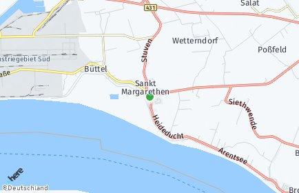 Stadtplan Sankt Margarethen