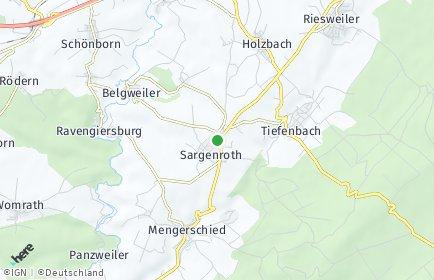 Stadtplan Sargenroth