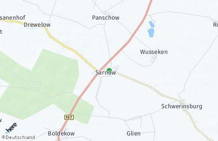 Stadtplan Sarnow