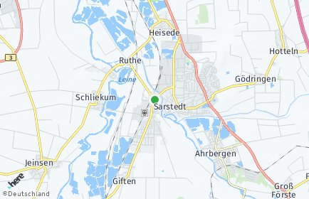 Stadtplan Sarstedt