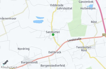 Stadtplan Sarzbüttel