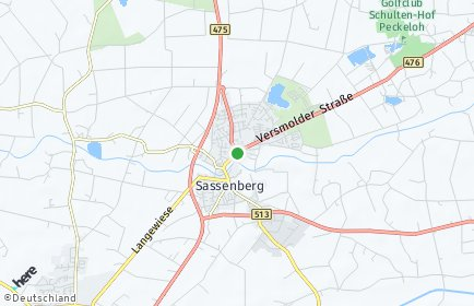 Stadtplan Sassenberg