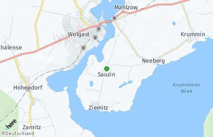 Stadtplan Sauzin