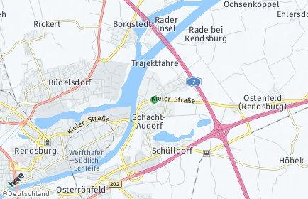 Stadtplan Schacht-Audorf