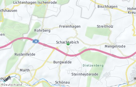 Stadtplan Schachtebich