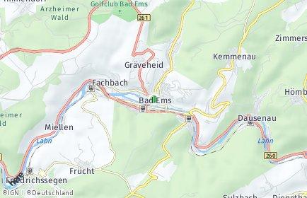 Stadtplan Rhein-Lahn-Kreis
