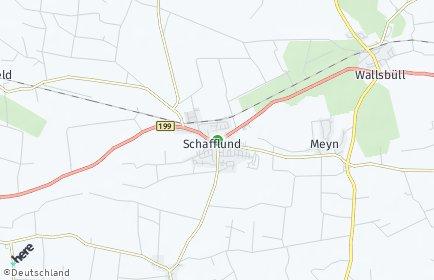 Stadtplan Schafflund