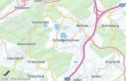 Stadtplan Schalkenmehren